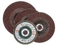 """Круг лепестковый торцевой абразивный """"Луга"""" для шлифования, 150 х 22,23мм, зерно P40"""