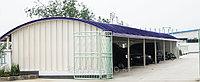 Изготовление металлоконструкций для арочных зданий, складов, ангаров из стали Заказчика
