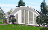 Изготовление металлоконструкций для арочных зданий, складов, ангаров из стали Заказчика, фото 2