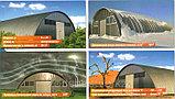 Изготовление металлоконструкций для арочных зданий, складов, ангаров из стали Заказчика, фото 4