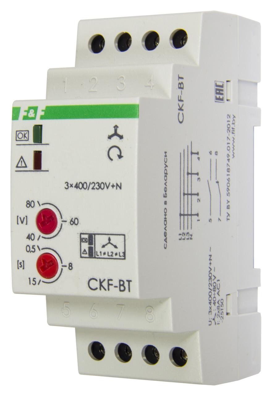 CKF-BT Автомат защиты электродвигателей, Асимметрия 40-80 В, минимальное напряжение 160 В, максимальное напряж