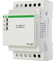 PF-431 Переключатель фаз автоматический, Задержка отключения по нижнему порогу, 16А