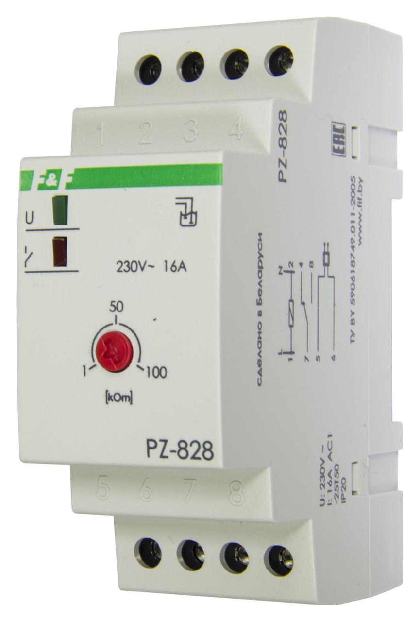 PZ-828 Реле контроля уровня, Один контролируемый уровень, Контакт 1Р, 16 А.
