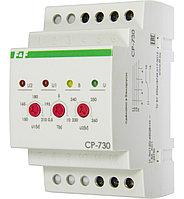 CP-730 Реле напряжения, Верхний предел 230-260 В, нижний предел 150-210 В, контакт 1Р, 8 А.