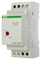 AS-B220 Автомат лестничный (таймеры выключатель), Максимальный ток 16 А. Монтаж на DIN-рейку,