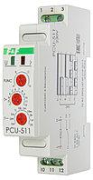PCU-511 Реле времени, Напряжение 230 В, Контакт 1NO/NC, выдержки времени 0,1 сек – 24 суток, 8А
