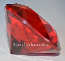 Сувенир кристалл из камня красный 50 гр