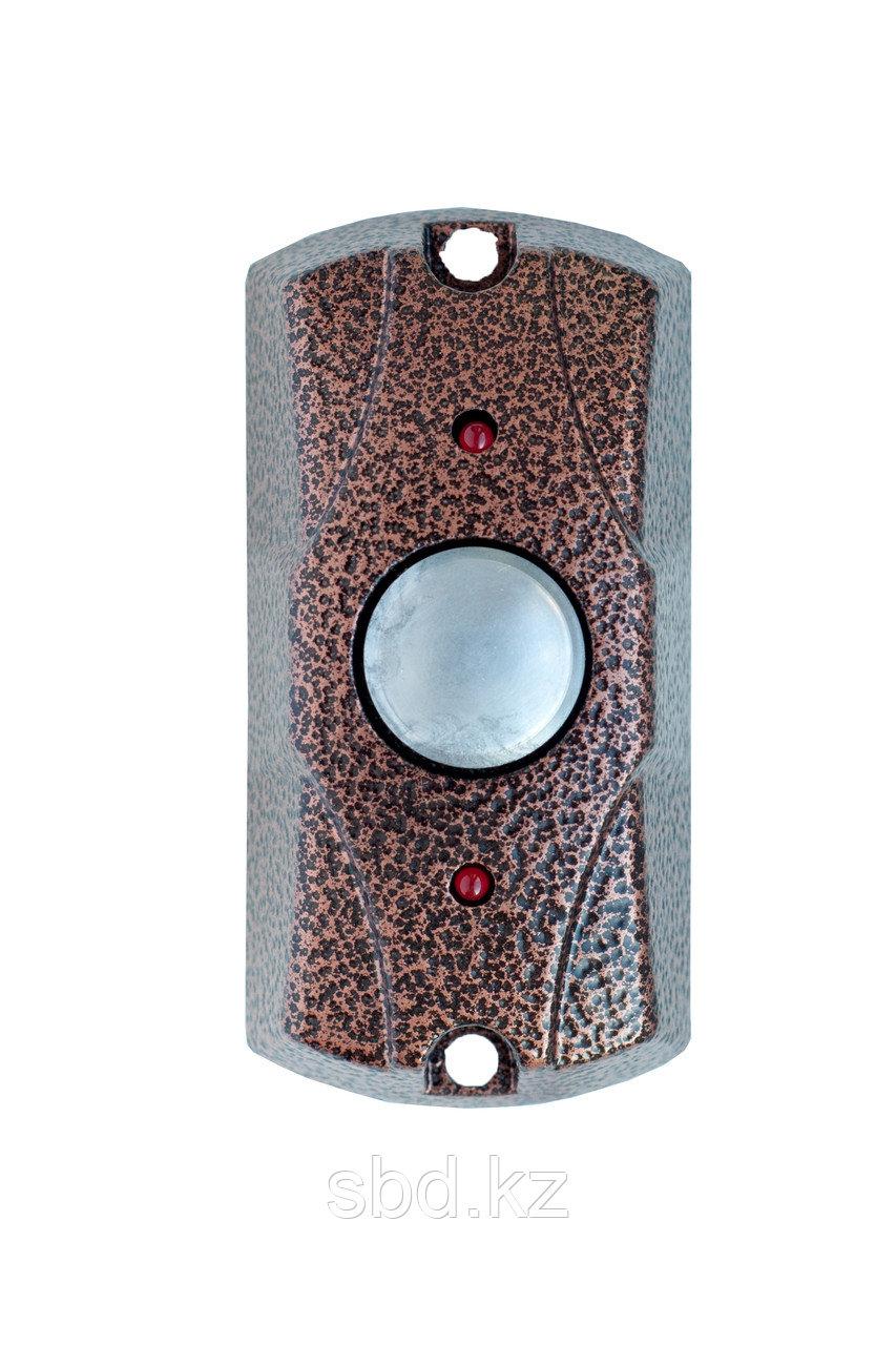 Кнопка вызывная накладная вандалозащищенная FE-100 медь Falcon Eye