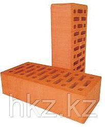 Рядовой кирпич красный керамический одинарный