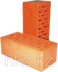 Рядовой кирпич красный керамический утолщенный
