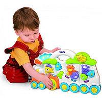 Развивающая музыкальная игрушка Weina Веселый поезд, фото 1