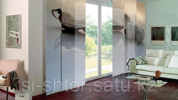 Японские (панельные) шторы - фото 5
