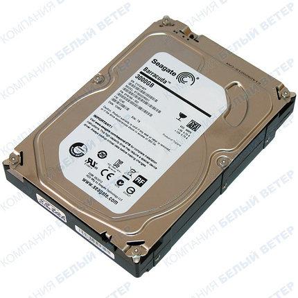 Жесткий диск HDD 3000 Gb Seagate Barracuda (ST3000DM001), 3.5'', 64Mb, SATA III, фото 2
