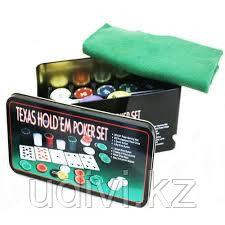 Набор для игры в покер Texas Hold 'em Poker Set