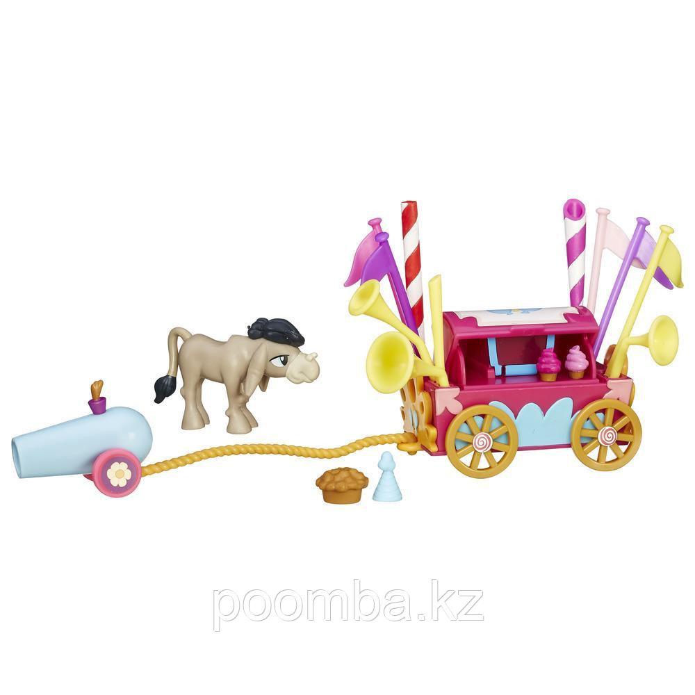 Мини-набор My Little Pony - Кренки Дудл и тележка для праздника