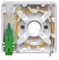 Абонентская оптическая розетка FTTH (1 порт), фото 1