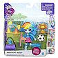 Игровой набор с мини-куклой Rainbow Dash, 12см, фото 2