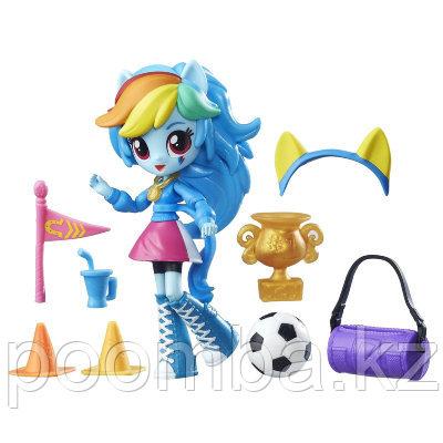 Игровой набор с мини-куклой Rainbow Dash, 12см