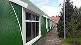 Строительство бескаркасных зданий из стали с полимерным покрытием., фото 4