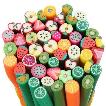 Дизайн для ногтей (фрукты-овощи)