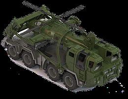 Нордпласт Военный тягач Щит с вертолетом