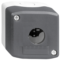 XALD01 Корпус кнопочного поста 1 отверстие