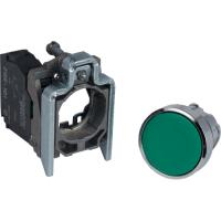 XB4BA31 Кнопка 22мм зеленая с возвратом xb4ba31