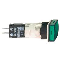 XB6CV3BB Сигн. Лампа 16мм 12-24в зеленая квадр.