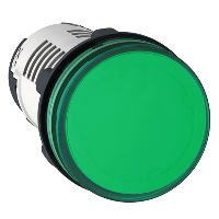 XB7EV03MP Сигнальная лампа 22 мм 230В зеленая