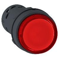 XB7NW34B2 Кнопка 22 мм 24В красная с подсветкой