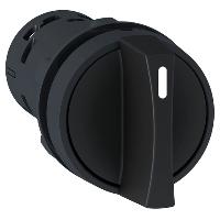 XB7ND25 Переключатель 22 мм 2 позиции черный, 1NO+1NC