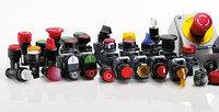 Кнопки, переключатели, сигнальные лампы, посты управления и джостики