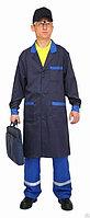 Рабочие халаты Flex темно синий