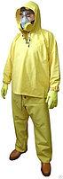 Плащ дождевик Костюм прорезиненный желтый