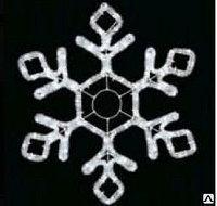 Снежинка LED 92*92см 240V белая
