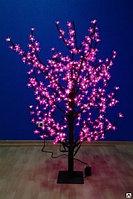 Сакура светодиодная цвет розовый, высота 1,5м, диаметр 1,5м