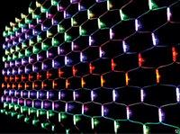 """LED гирлянда """"Сетка с 2 лампами"""" G-061"""