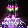 """LED гирлянда """"RGB умный Водопад"""" G-074"""