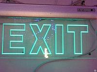 """Световое табло """"EXIT"""" 364х225х43мм."""