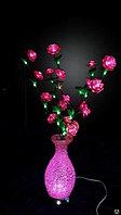 """LED """" Цветы в вазочки"""" D-023"""