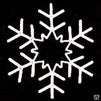 Снежинка из дюралайта S-006
