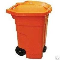 Мусорный бак на колесах (мусорный контейнер на колесах) 360 л.