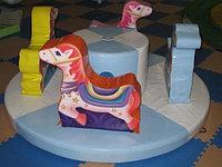 Детская развлекательно-игровая Мини карусель с лошадками