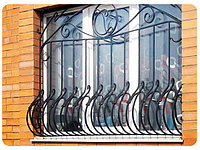 Решетки на окна металлические,кованые. Ворота,перила.