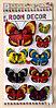 """Набор наклеек """"Бабочки"""" 5D, цветные"""