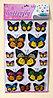 """Набор наклеек """"Бабочки"""" 6D, цветные, 15шт."""