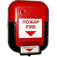 Извещатель пожарный ручной ИР-1(красный)
