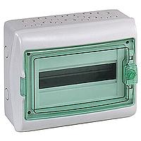 13981 Kaedra 1x12 модулей пылевлагозащищенный щит, навесной