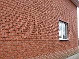 """Фасадная облицовочная бетонная панель - """" Шамотный кирпич"""", фото 3"""