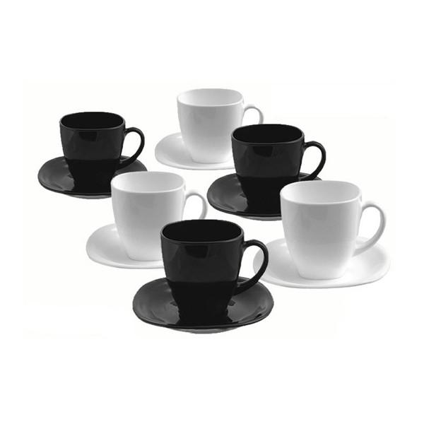 Чайный сервиз Luminarc  Carine White&Black на 6 персон